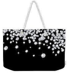 Falling Diamonds Weekender Tote Bag