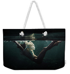 Falling Down Weekender Tote Bag