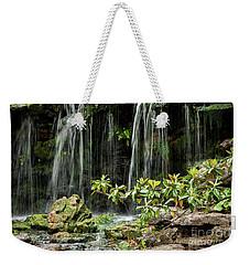 Falling Falls In The Garden Weekender Tote Bag