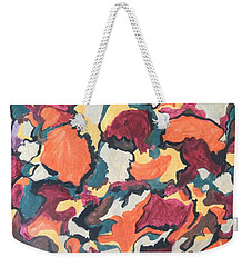 Falling For You Weekender Tote Bag by Esther Newman-Cohen