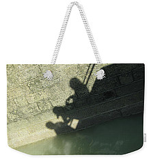 Falling Into The Water Weekender Tote Bag