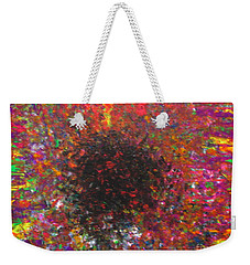 Weekender Tote Bag featuring the painting Falling by Jacqueline Athmann