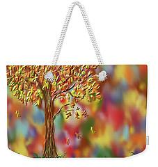 Falling Leaves Weekender Tote Bag by Kevin Caudill