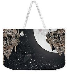 Falling Weekender Tote Bag by Mihaela Pater