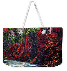 Falling Waters Weekender Tote Bag
