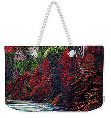Falling Waters Weekender Tote Bag