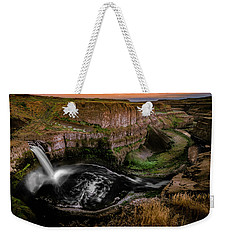 Falls At Palouse Weekender Tote Bag
