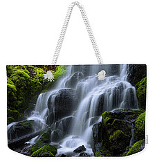 Weekender Tote Bag featuring the photograph Falls by Chad Dutson