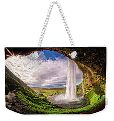 Falls Eye Weekender Tote Bag