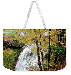 Falls In Autumn Weekender Tote Bag