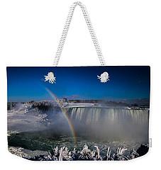 Falls Misty Rainbow  Weekender Tote Bag