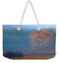 Falltime In The Meadow Weekender Tote Bag