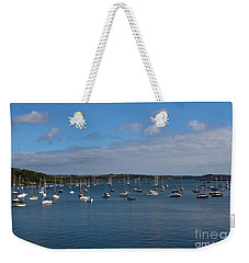 Falmouth Harbour Weekender Tote Bag by Brian Roscorla
