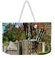 Familiar Fall Weekender Tote Bag