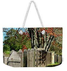 Familiar Fall Weekender Tote Bag by Lori Mellen-Pagliaro