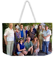 Family And Friends Reunion Weekender Tote Bag