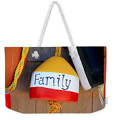 Family Buoy Weekender Tote Bag
