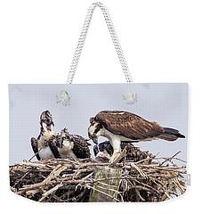 Family Meal Weekender Tote Bag