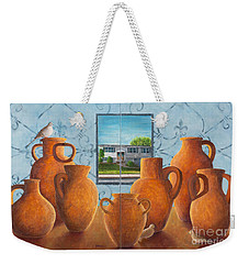 Family Portrait A And B Weekender Tote Bag