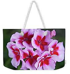 Weekender Tote Bag featuring the photograph Family by Sherry Hallemeier