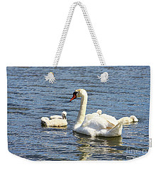 Family Time Weekender Tote Bag by Alyce Taylor