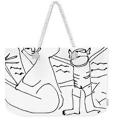 Family Vacation Weekender Tote Bag