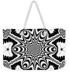 Weekender Tote Bag featuring the digital art Famoirkine by Andrew Kotlinski