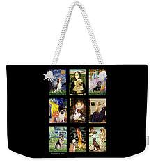 Famous Art Dogs #1 Weekender Tote Bag