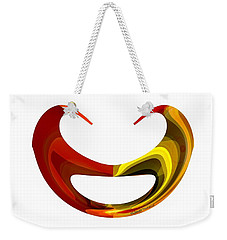 Famous Smiling Mustaches Weekender Tote Bag by Thibault Toussaint