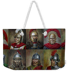 Famous Warriors In History Weekender Tote Bag