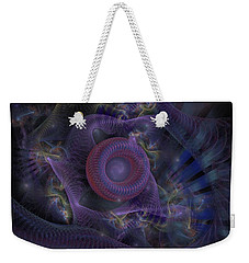 Fan Dancer - Fractal Art Weekender Tote Bag by NirvanaBlues