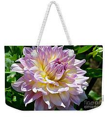 Fancy Dahlia In Pinks Weekender Tote Bag