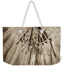 Fancy Dancer Male Sepia Weekender Tote Bag