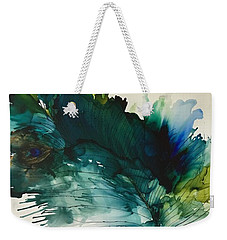 Fancy Feather Weekender Tote Bag