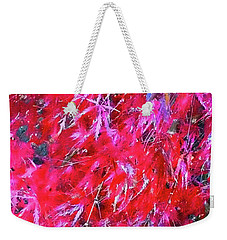 Weekender Tote Bag featuring the photograph Fancy Pants by Roberta Byram