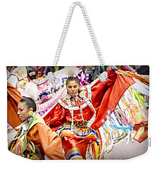 Fancy Shawl Dancers Weekender Tote Bag