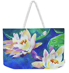 Fancy Waterlilies Weekender Tote Bag