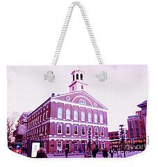 Faneuil Hall Weekender Tote Bag