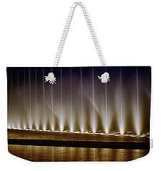 Fanfare Fountains Weekender Tote Bag by Joseph Hollingsworth
