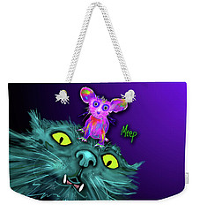 Fang And Meep  Weekender Tote Bag by DC Langer
