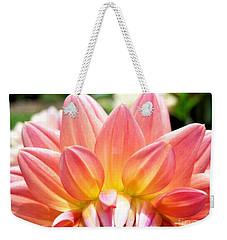 Fanned Out Petals Weekender Tote Bag
