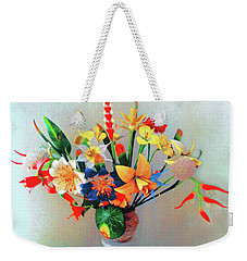 Fantastic Flowers Of The South Pacific Weekender Tote Bag