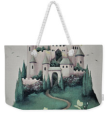 Fantasy Castle Weekender Tote Bag