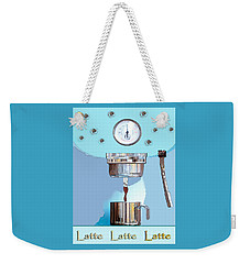 Fantasy Espresso Machine Weekender Tote Bag by Marian Cates