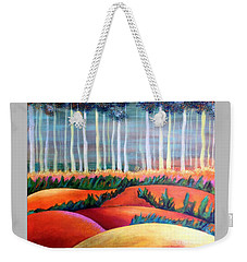 Through The Mist Weekender Tote Bag by Elizabeth Fontaine-Barr