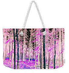 Fantasy Forest Weekender Tote Bag by Linda Bianic