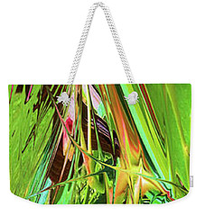 Fantasy Garden Abstract Weekender Tote Bag