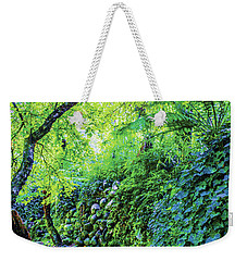 Fantasy Garden  Weekender Tote Bag by Naomi Burgess