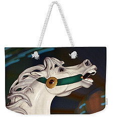 fantasy horses - Dappled Gray Dancer Weekender Tote Bag