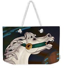 fantasy horses - Dappled Gray Dancer Weekender Tote Bag